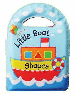 Learning Bath Book: Little Boat Shapes