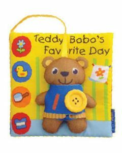 Activity Dressing Book: Teddy Bobo's Favourite Day
