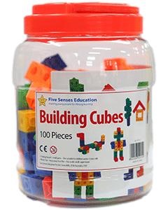 Building Cubes 100 pieces (Ages 3+)
