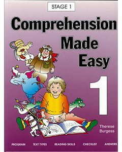 Comprehension Made Easy Book 1