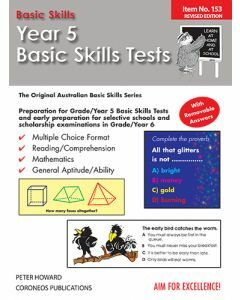 Year 5 Basic Skills Test - Suitable preparation for NAPLAN* Tests (Basic Skills No. 153)