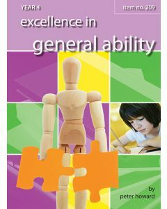 Excellence in General Ability Year 4 (Item 209)