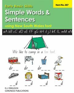 Early Basic Skills 2: Simple Words and Sentences using NSW font (No. 267)
