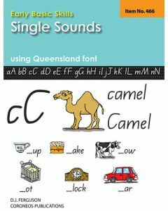 Early Basic Skills 1: Single Sounds using Queensland font (No. 466)