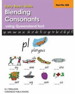 Early Basic Skills 3: Blending Consonants using Queensland font (No. 468)