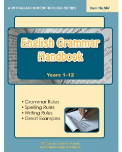 English Grammar Handbook (Australian Homeschooling no. 567)