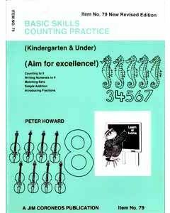 Counting Practice Yrs K and Under (Basic Skills No. 79)