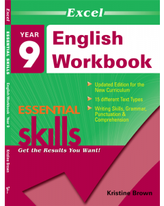 Excel Essential Skills: English Workbook Year 9