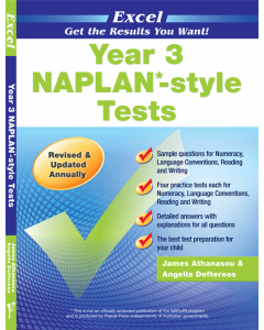Excel NAPLAN*-style Tests Year 3