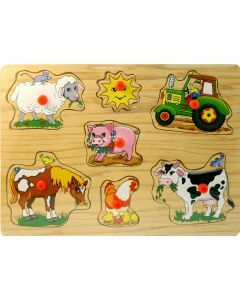 On the Farm Wooden Puzzle