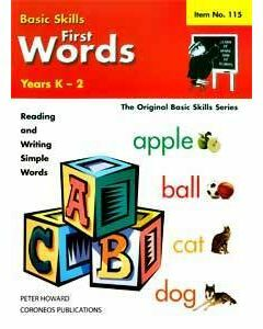 First Words Yrs K to 2 (Basic Skills No. 115)