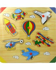 Flying Vehicles Wooden Puzzle