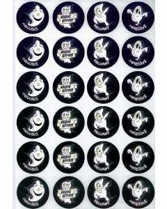Ghosts Merit Stickers (MS063)