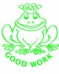Good Work Frog (ST1211)