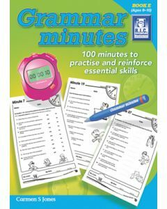 Grammar Minutes Book E (Ages 9 to 10)