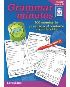 Grammar Minutes Book F (Ages 10 to 11)