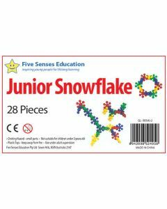 Junior Snowflake 28 pieces (Ages 3+)