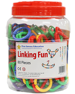 Linking Fun 80 pieces (Ages 3+)