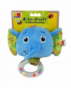Baby Rattle Book: Ellie the Elephant