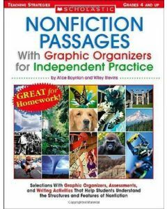 Non Fiction Passages With Graphic Organizers for Independent Practice (Grades 4+)