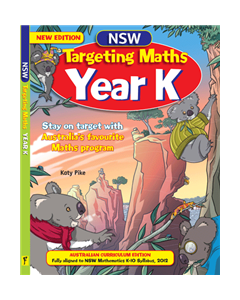 NSW Targeting Maths Year K Student Book Australian Curriculum Edition