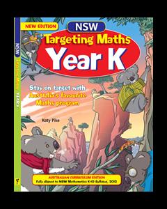 NSW Targeting Maths Year K Student Book Australian Curriculum Edition