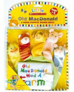Old Macdonald Handpuppet and Board Book