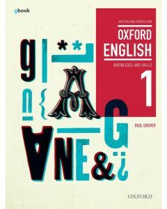 Oxford English 1 Knowledge and Skills Australian Curriculum Student Book + obk (Available to Order)