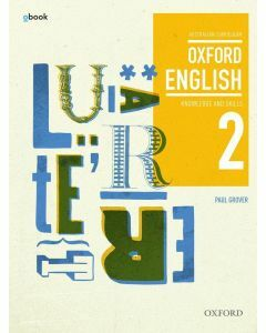 Oxford English 2 Knowledge and Skills Australian Curriculum Student Book + obk