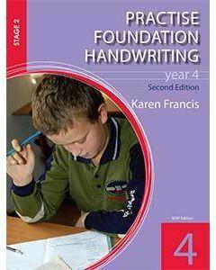 Practise Foundation Handwriting 4 (2nd Ed.)