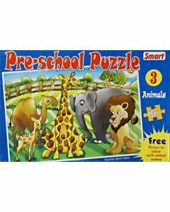 Preschool Puzzle 3: Animals (15 pieces)