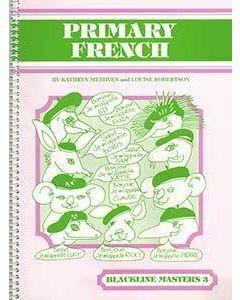 Primary French Blackline Master 3