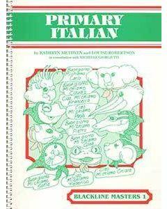 Primary Italian Blackline Master 1
