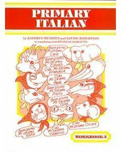 Primary Italian Workbook 3