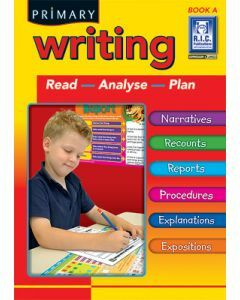 Primary Writing Book A (Ages 5 to 6)