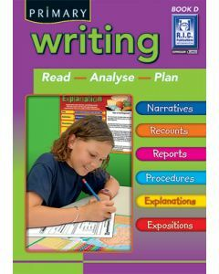 Primary Writing Book D Ages 8 to 9