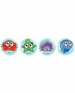 Reef Creatures Merit Stickers (ms018)