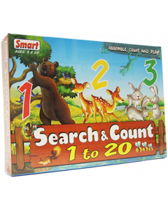 Search & Count - 1 to 20 (Ages 3+)