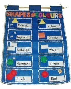 Shapes and Colours Wall Hanging