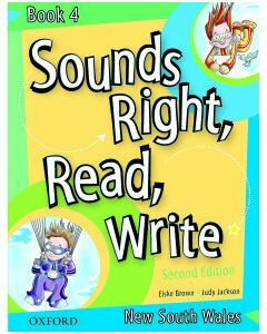 Sounds Right, Read, Write NSW Book 4 Second Edition