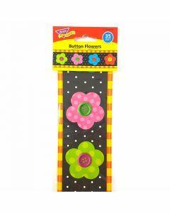 Button Flowers Bolder Borders