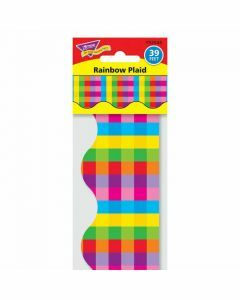 Rainbow Plaid Terrific Trimmers