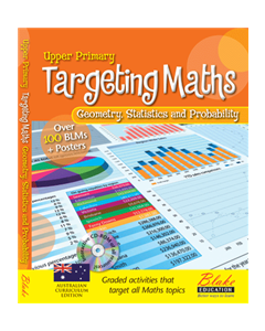 Targeting Maths - Upper Primary - Geometry, Statistics and Probability New Edition