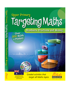 Targeting Maths - Upper Primary - Number, Fractions and Money New Edition