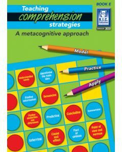 Teaching Comprehension Strategies Book E (Ages 9 to 10)