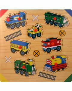 Trains Wooden Puzzle