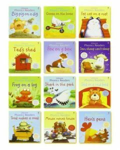 Usborne Phonic Readers Boxed Set of 12