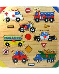 Vehicles Wooden Puzzle