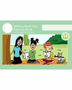 Writing Book Size Exercise Book 6mm Dotted Thirds 64pp