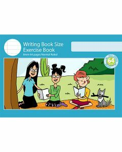 Writing Book Size Exercise Book 8mm Normal Ruled 64pp